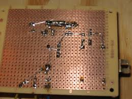 diy power supply circuit board for guitar effect pedals and stomp boxes