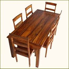 indian dining room furniture. Appalachian Rustic 7 Pc Dining Table And Chair Set Indian Rosewood Handmade Tables Room Furniture