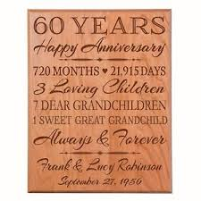 image is loading 60th wedding anniversary gift wooden wall hanging plaque