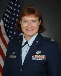 COLONEL SHARON M JOHNSON > 315th Airlift Wing > Display