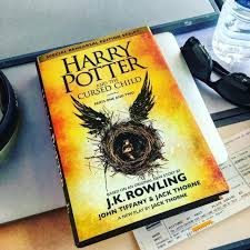 the book harry potter and the cursed child english on the account insram of