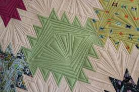 Quilting Is My Therapy Peaks and Valleys - Quilting Is My Therapy & geometric machine quilting designs Adamdwight.com