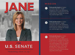 Campaign Flyer Template Jourjour Co
