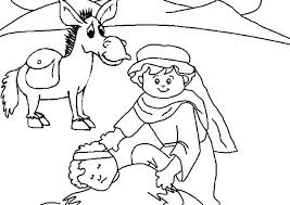 The Good Samaritan Coloring Page Coloring Pages The Good Good Bible