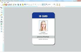 Blank School Id Template Id Card Template Photoshop Allthingsproperty Info