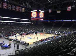 Vystar Veterans Memorial Arena Section 117 Basketball