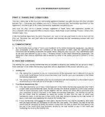 Membership Dues Template Monthly Club Membership Dues Template Fitness Class