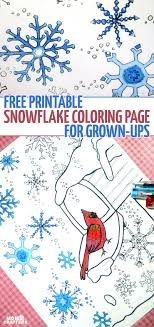 Small Picture Free Printable Winter Coloring Pages for Adults Moms and Crafters