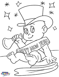 New Years – Coloring Pages – Original Coloring Pages