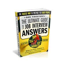 Quintessential Careers Interview Questions Ultimate Guide To Job Interview Answers Ebook By Bob