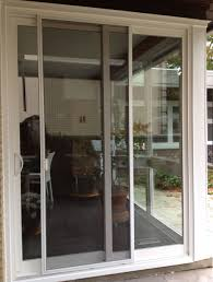 door how to fix a sliding glass door lovely sliding screen door for apartment balcony
