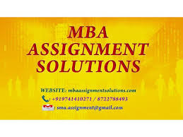 nmims mba assignment solutions mba assignment solutions operations management