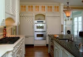 Custom Kitchen Cabinetry With Double Oven