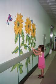 wall murals on mural wall artist with foundation for hospital art wall murals the artwork