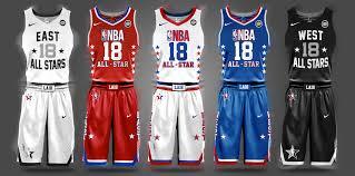 Nba All Star 2019 Jersey Design Nba Nike Uniform Concepts I Am Brian Begley