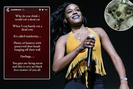 Azealia Banks brands critics of dead cat video 'racist' and snaps 'kiss my  witchy a**' after digging up pet on Instagram