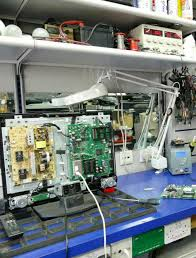 tv repair shop. in-shop tv repair service tv shop e