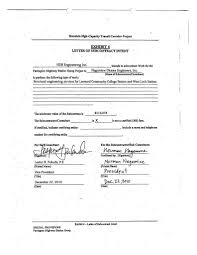 Subcontractor Letter Of Intent Template Letter Template Change
