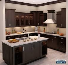 Modern Kitchen Sapelli Cabinets Woodworks For Kicthen kitchen design  Woodwork Designs For Kitchen