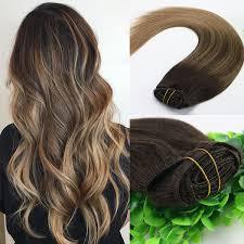 8A 7pcs 120gram <b>14inch</b> 18inch 20inch 24inch Clip In Human <b>Hair</b>