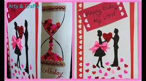 Handmade Birthday Card Designs For Husband Diy Birthday Card Beautiful Handmade Birthday Card Romantic