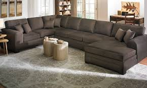 sectional sofa with chaise. Picture Of Sophia Oversized Chaise Sectional Sofa With U