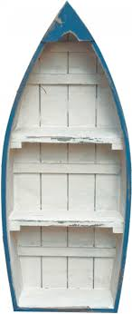 boat shaped bookcase google search