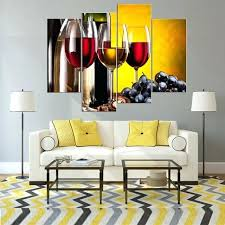 wall canvas prints canvas wall art wine g poster painting canvas prints 4 pieces artwork picture for kitchen wall canvas wall prints canvas wall