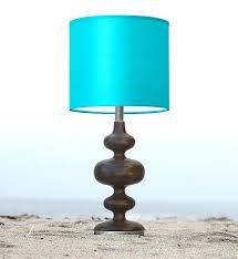 nursery table lamps turquoise table lamp nursery blue glass baby room table lamps