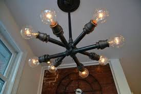 pipe light fixture black pipe light fixture imposing industrial lighting ideas for your home interior how