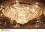 Grand crystal chandelier