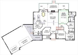 bungalow house plans with attached garage lovely ranch style house plans with angled garage home