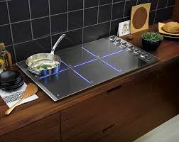 viking 36 all induction cooktop contemporary kitchen los