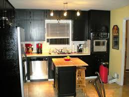 Small Kitchen Black Cabinets Premade Kitchen Cabinets Winnipeg Best Home Furniture Decoration