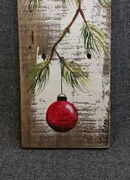 wood pallet painting ideas for christmas. christmas decor pallet art by thewhitebirchstudio wood painting ideas for