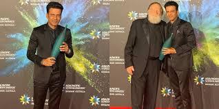 I feel accomplished: Manoj Bajpayee on winning best actor Asia Pacific  Screen Award | News24