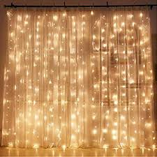 Light decoration for bedroom Room Decor Amazoncom Twinkle Star 300 Led Window Curtain String Light Wedding Party Home Garden Bedroom Outdoor Indoor Wall Decorations Warm White Garden Amazoncom Amazoncom Twinkle Star 300 Led Window Curtain String Light