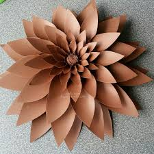 How To Make Paper Cones For Flower Petals Large Flower Petals Anyone Can Craft