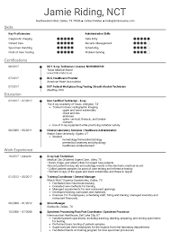 Resume Examples By Real People Medical Assistant X Ray Tech