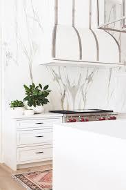 Marble slab backsplash Carrara Marble Single Slab Backsplashes Greystone Statement Interiors Interior Design Blog Greystone Statement Interiors Solid Slab Kitchen Backsplashes Greystone Statement Interiors