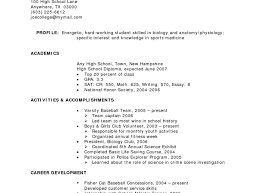 Full Size of Resume:bright Ideas Scholarship Resume 6 Resume Examples  Wonderful 10 Best Examples ...