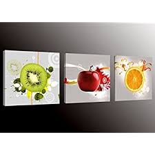 formarkor art kx1656 fruit picture canvas wall art prints for kitchen framed food canvas painting on wall art pictures of food with amazon colorful various vegetables and fruit wall art painting