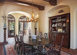 rustic dining room hutch. Mediterranean Dining Room Has A Custom Nook For The Hutch [Design: Cornerstone Architects] Rustic