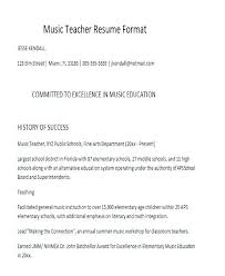 Examples Of Education Resumes Resume Format For Education Keralapscgov