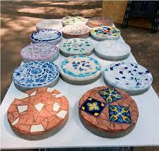 decorative garden stepping stones. Decorated Garden Stepping Stones Decorative G