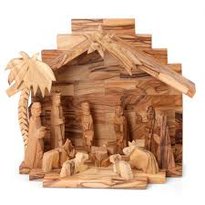 olive wood nativity set with 11 pieces home decor my jerum