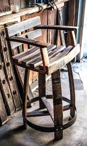 whiskey barrel rocking chair owner of furnishings in kc turns whiskey barrels into furniture the city