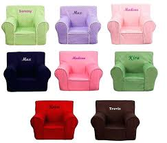 zoom personalized toddler chair youth chairs kids foam arm