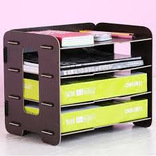 Where To Buy Magazine Holders Interesting Aliexpress Buy Paperboat A32 Multi Layer Wooden Kawaii File
