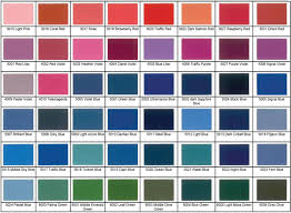Powder Coating Colour Chart Uk Complete Ral Colour Chart With Names Fabric Colour Chart